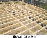 2階床組(剛床構造)